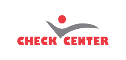 Check center client color logo