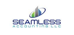 Seamless client color logo